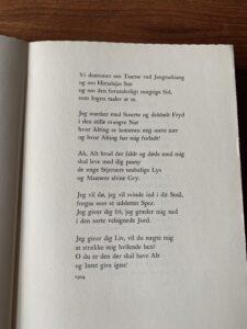 """Anden side af digtet: """"Moderens sang"""" af Johannes V. Jensen"""