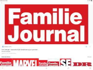 Familie Journal forside